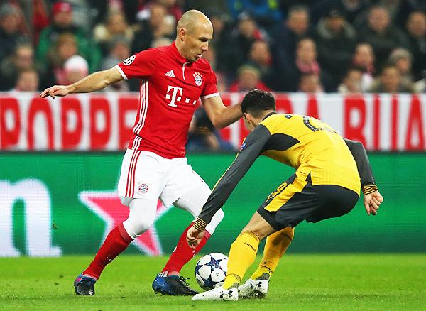 Arjen Robben fue uno de los puntos más altos en la goleada del Bayern sobre el Arsenal. (Foto: AFP)