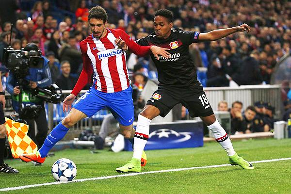 Atlético de Madrid y Bayer Leverkusen, más allá del 0-0, regalaron un partido con muchas emociones. (Foto: Reuters)