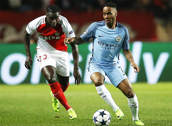 Mónaco tiro por el suelo el favoritismo del Manchester City y avanzó a cuartos de final. (Foto: AFP)