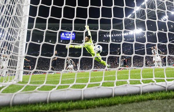 El gol de Dani Alves sentenció la serie. (Foto: AFP)