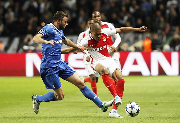 Ante la Juventus, Mbappé fue neutralizado. En consecuencia, la opciones de Mónaco se redujeron. (Foto: Reuters)