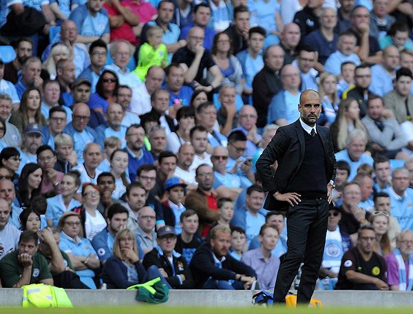 Guardiola tiene la presión de un Manchester City que quiere resultados. (Foto: AFP)