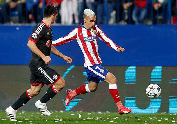 Atlético de Madrid eliminó a Leverkusen vía penales en la Champions League pasada. (Foto: AFP)