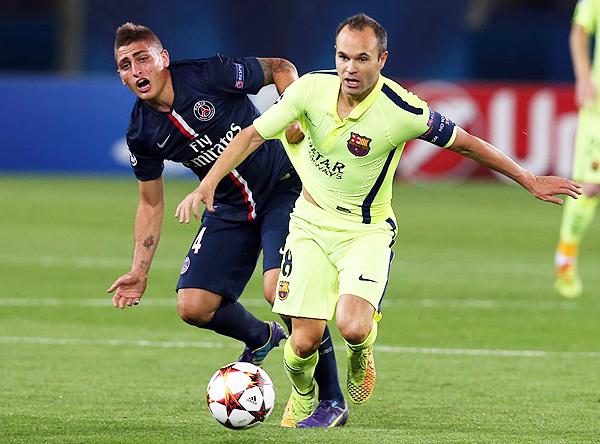 Barcelona derrotó a PSG en la temporada 2014/15 cuando compartieron el grupo. (Foto: prensa FC Barcelona)