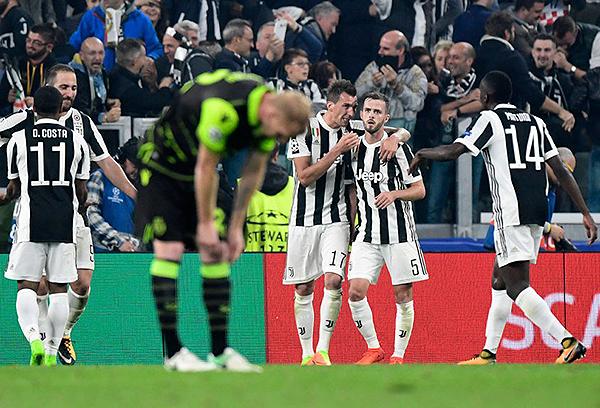 La Juventus, más allá del inicio irregular, no cabe duda que sigue como candidato en Europa. (Foto: AFP)