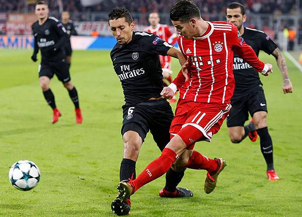 Cuando el PSG se enfrentó al Bayern en la fecha final de los grupos de la Champions, sufrió mucho. (Foto: AFP)