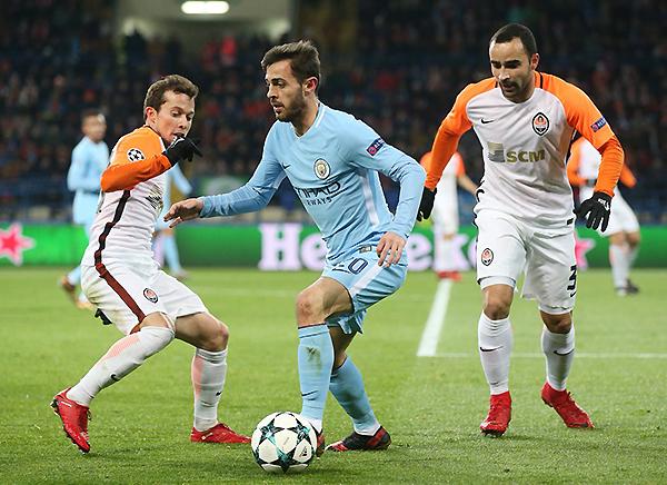 Aunque perdió ante el Shakhtar, el Manchester City aseguró el primer lugar de su grupo con antelación. (Foto: AFP)