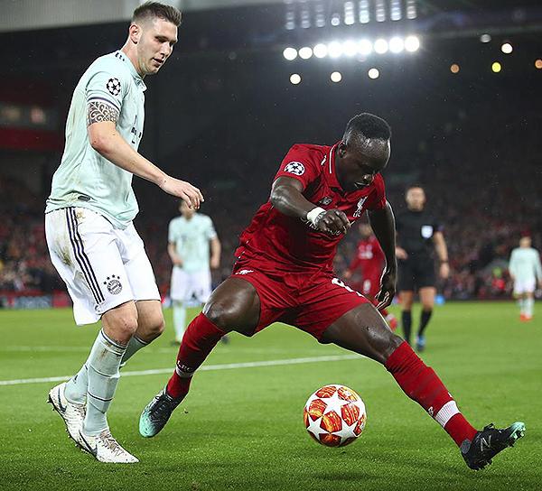 Sadio Mané mostró su capacidad individual, pero faltó precisión frente al arco. (Foto: UEFA)