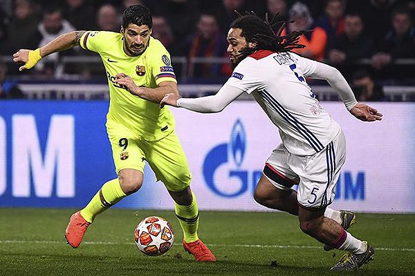 Aunque Lyon tuvo la más clara en el inicio, el Barcelona no ve con mala cara el empate. (Foto: UEFA)
