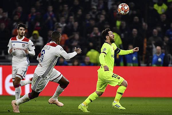 Messi no tuvo los espacios para hacer daño. (Foto: UEFA)
