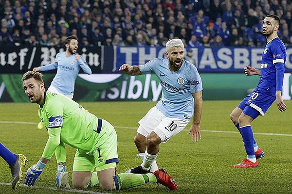 Sucedió lo que cualquiera podía imaginar: la jerarquía del City ante un Schalke combativo. (Foto: UEFA)