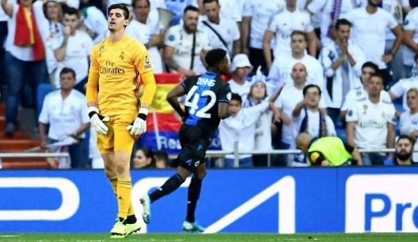 Courtois la pasó mal ante sus compatriotas del Genk. (Foto: UEFA)
