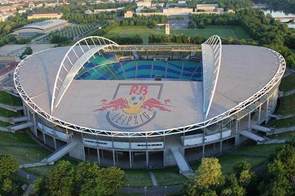 El Red Bull Arena es la casa de RB Leipzig. (Foto: prensa Leipzig)