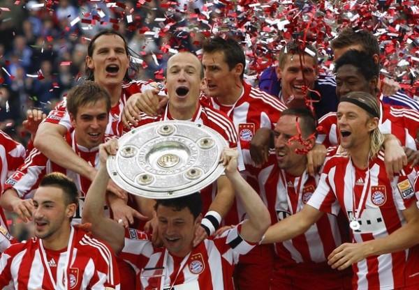El Bayern de Van Gaal y su inmarcesible gloria (Foto: Reuters)