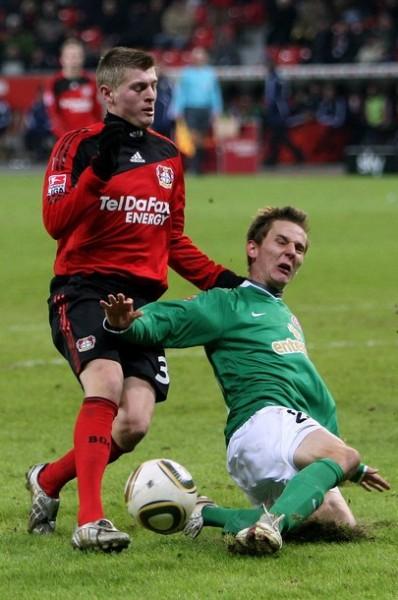 Kroos cambió de aires, se fue a Leverkusen y acabó siendo figura (Foto: AFP)