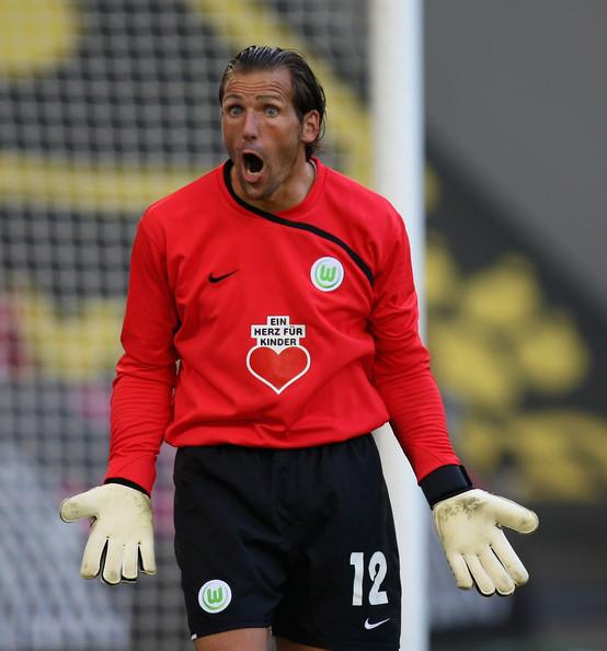 Andre Lenz, habitual suplente del arquero Diego Benaglio en Wolfsburgo y que recientemente sufriera un atentado, es el jugador más veterano de la presente edición de la Bundesliga (Foto: zimbio.com)