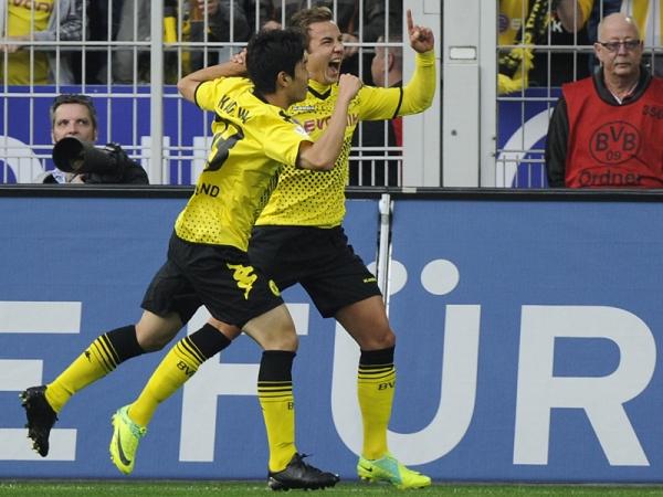 Y SIGUE SUBIENDO. Borussia Dortmund superó 5-1 a Wolfsburgo y se adueñó del segundo lugar. (Foto: AP)