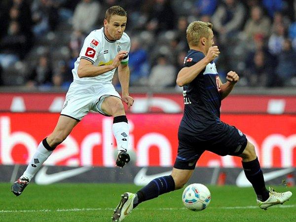 LA VIDA ES UN SUEÑO. Borussia Mönchengladbach continúa en la parte alta de la tabla tras vencer 1-2 a Hertha Berlín. (Foto: AP)