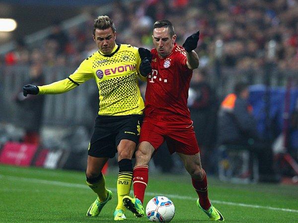 SE AJUSTA. Bayern Munich cayó derrotado en el Allianz Arena ante Borrusia Dortmund, su más cercano perseguidor, con un tanto de Mario Gotze. (AP)