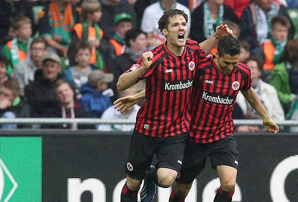 Eintracht Frankfurt regresó con buen pie a la Bundesliga al culminar dentro de los equipos que disputarán la Europa League en la siguiente temporada (Foto: bundesliga.com)