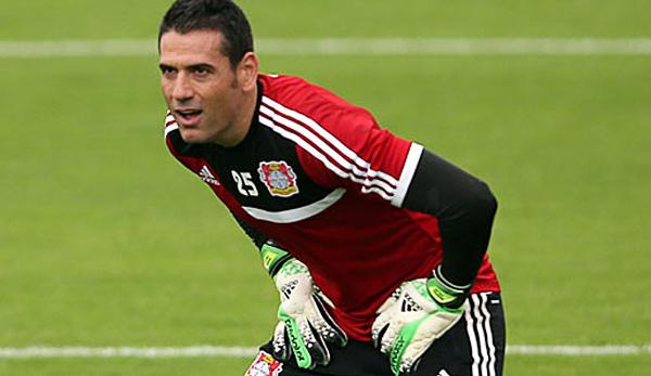 Toda la experiencia de Andrés Palop está ahora al servicio del Leverkusen que confió en él pese a su avanzada edad para un futbolista (Foto: spox.com)