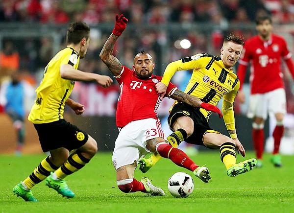 Aunque el Bayern demuestra supremacía, equipos como el Dortmund esperan aguarle la fiesta. (Foto: AFP)