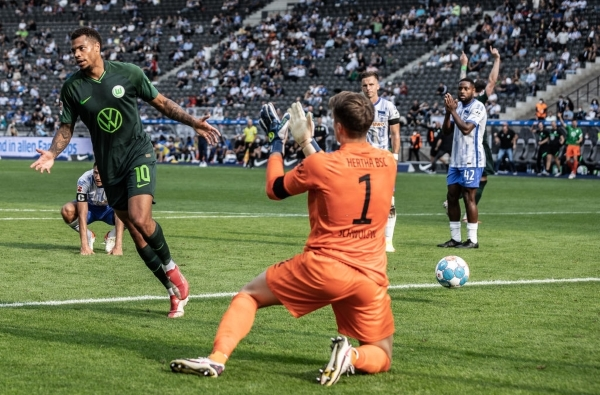 Nmecha ante  una revancha esperada con divisa del Wolfsburg. (Foto: AFP)