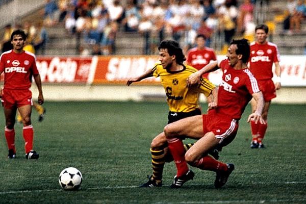 En la final del 90, solo tres jugadores del Bayern disputaron la final, entre ellos Jürgen Kohler (Foto: Imago)