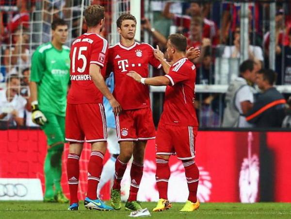 El campeón de todo, ese es el Bayern que tiene el reto de sostener su última gran temporada con técnico nuevo (Foto: AFP)