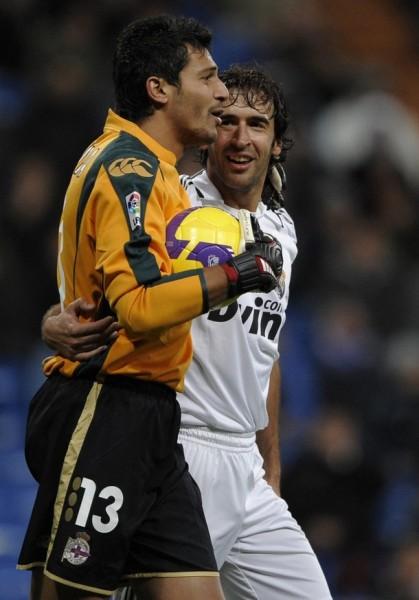 Tras varias temporadas en el pórtico del Depor, el uruguayo Munúa se marcha al Málaga (Foto: Reuters)