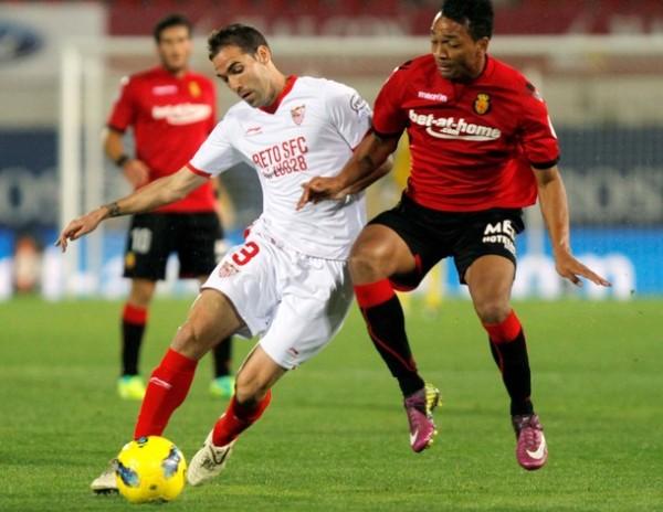 SIN DAÑO ALGUNO. En un encuentro soso, Mallorca igualó con Sevilla a cero goles. (Foto: AP)