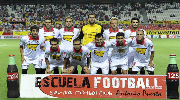 Regresar al nivel de sus mejores tiempos es la tarea en esta temporada para el equipo sevillano (Foto: sevillafc.es)