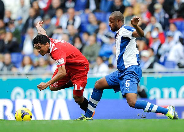 Sevilla cumplió una buena temporada en buena medida por la rápida adaptación de Carlos Bacca al fútbol español, respondiendo con muchos goles (Foto: AFP)