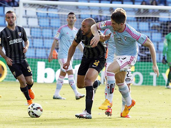El objetivo para equipos como Málaga o Celta no son precisamente el título español. (Foto: AFP)