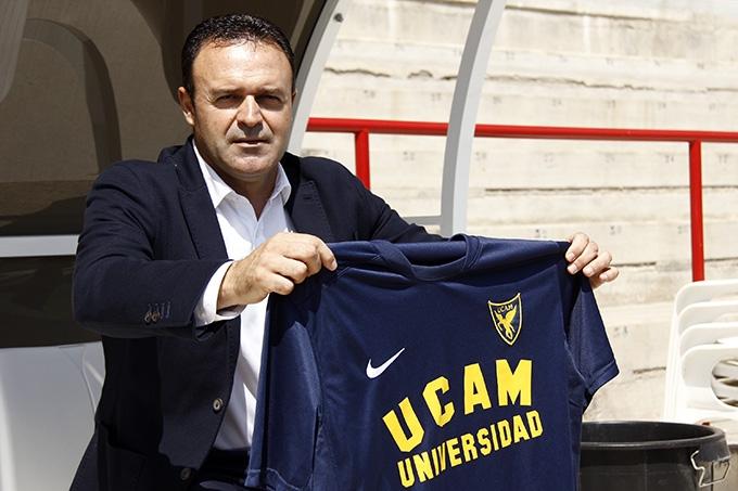 Es el club más joven de la Liga 123. Salmerón dirigirá a la U. Católica de Murcia. (Foto: Prensa UCAM)