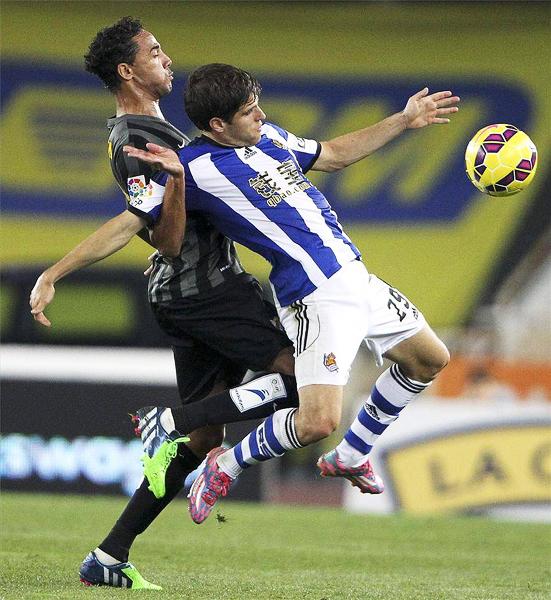 Wellington es uno de los referentes en el Málaga. (Foto: AFP)