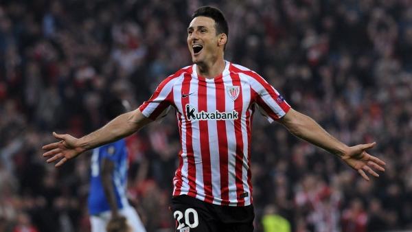 Aduriz, en su última temporada, buscará dejar los mejores gritos de gol en la afición vasca. (Foto: Prensa Athletic)
