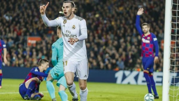 El gol anulado a Bale, la opción más cercana que tuvo el clásico español de romper el cero. (Foto: diario Marca)