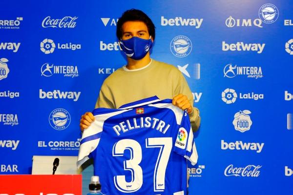 Pellistri y un segundo round en Europa con la divisa del Alavés. (Foto: AFP)