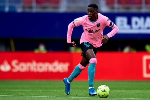 Moriba, talento en ciernes para un necesitado Barcelona. (Foto: AFP)