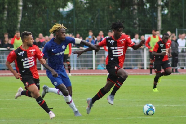 El angoleño Camavinga es una de las jóvenes promesas del Rennes. (Foto: Prensa Rennes)