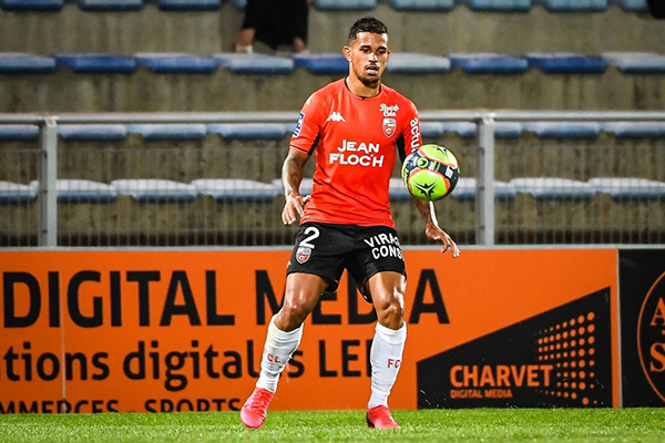 Silva, único refuerzo de un Lorient modesto. (Foto: Prensa FPF)