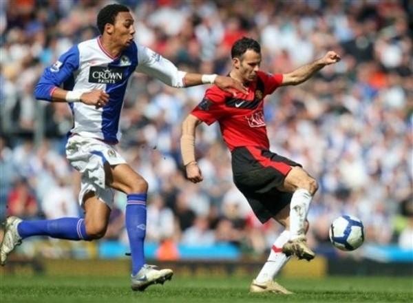 Nonzi dio el salto a los primeros planos con el Blackburn (Foto: AP)