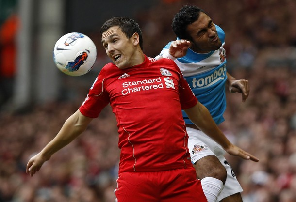 ROJA DE ENTRADA. Liverpool tuvo un estreno infortunado: igualó 1-1 ante Sunderland. (Foto: Reuters)