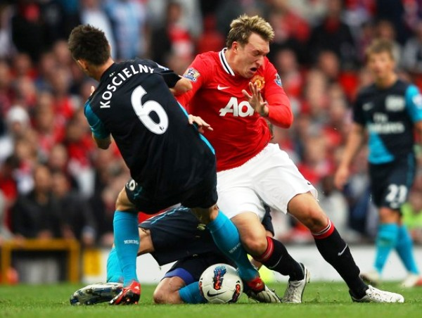 GOLEADA HISTÓRICA.  Manchester United humilló al Arsenal goleándolo por 8-1. (Foto: AFP)