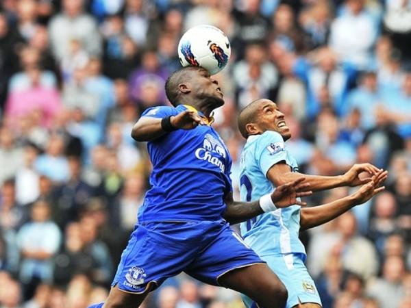 MISMO TONO. Manchester City no para la máquina. Esta vez, venció como local a Everton que se fue desinflando con los minutos. (Foto: AFP )