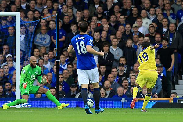 El 3-6 sobre Everton hace algunas fechas demostró lo brutal que puede ser el Chelsea en ataque (Foto: AFP)
