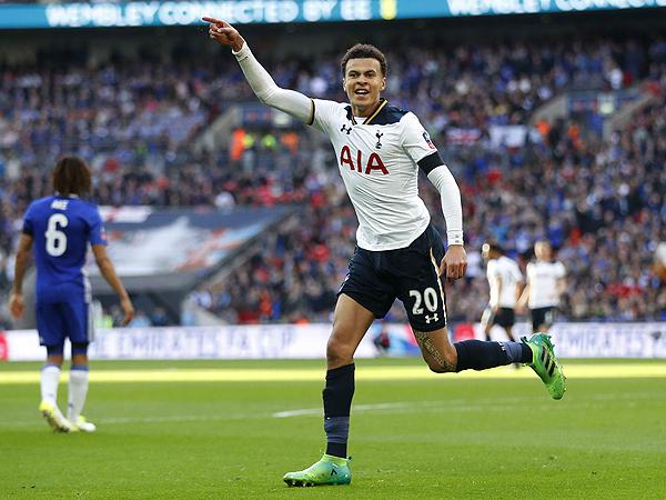 Dele Alli ratificó su condición de figura en el Tottenham. (Foto: Getty Images)