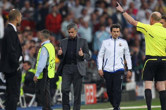 Mourinho llegó a Real Madrid para ser antagonista de Guardiola. (Foto: Sky Sports)