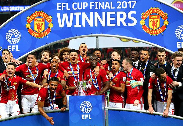 Además de la Europa League, el Manchester United se consagró campeón de la Copa de la Liga. (Foto: Prensa Manchester United)